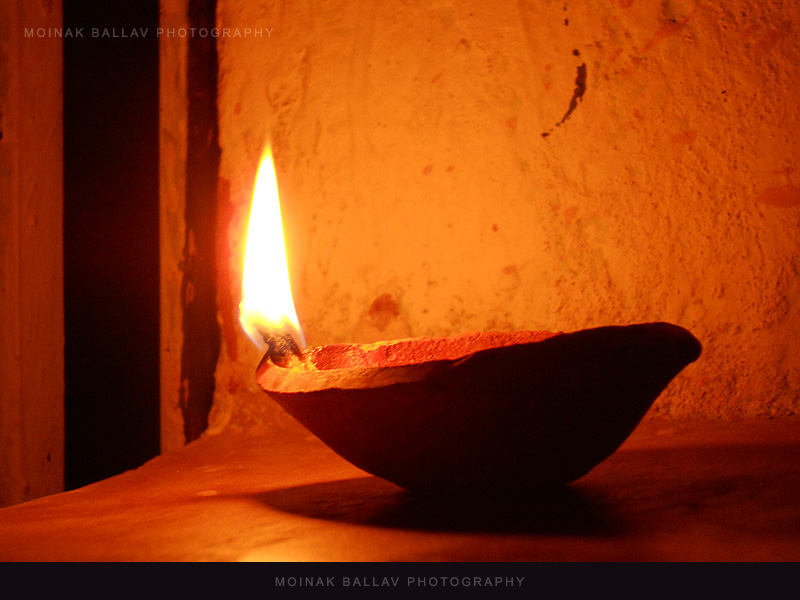 earthen lamp