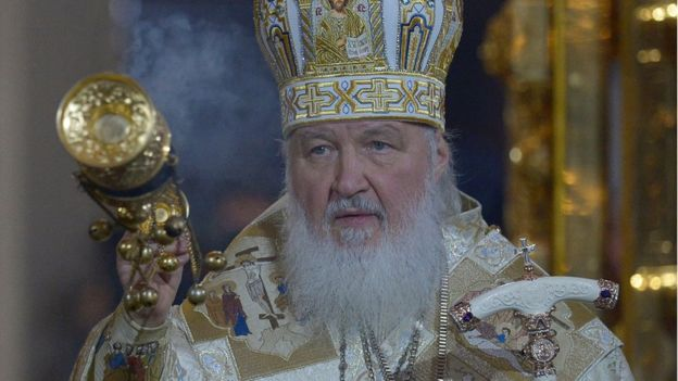 Patriarch Kirill has been the head of the Russian Orthodox Church since February 2009 , AFP
