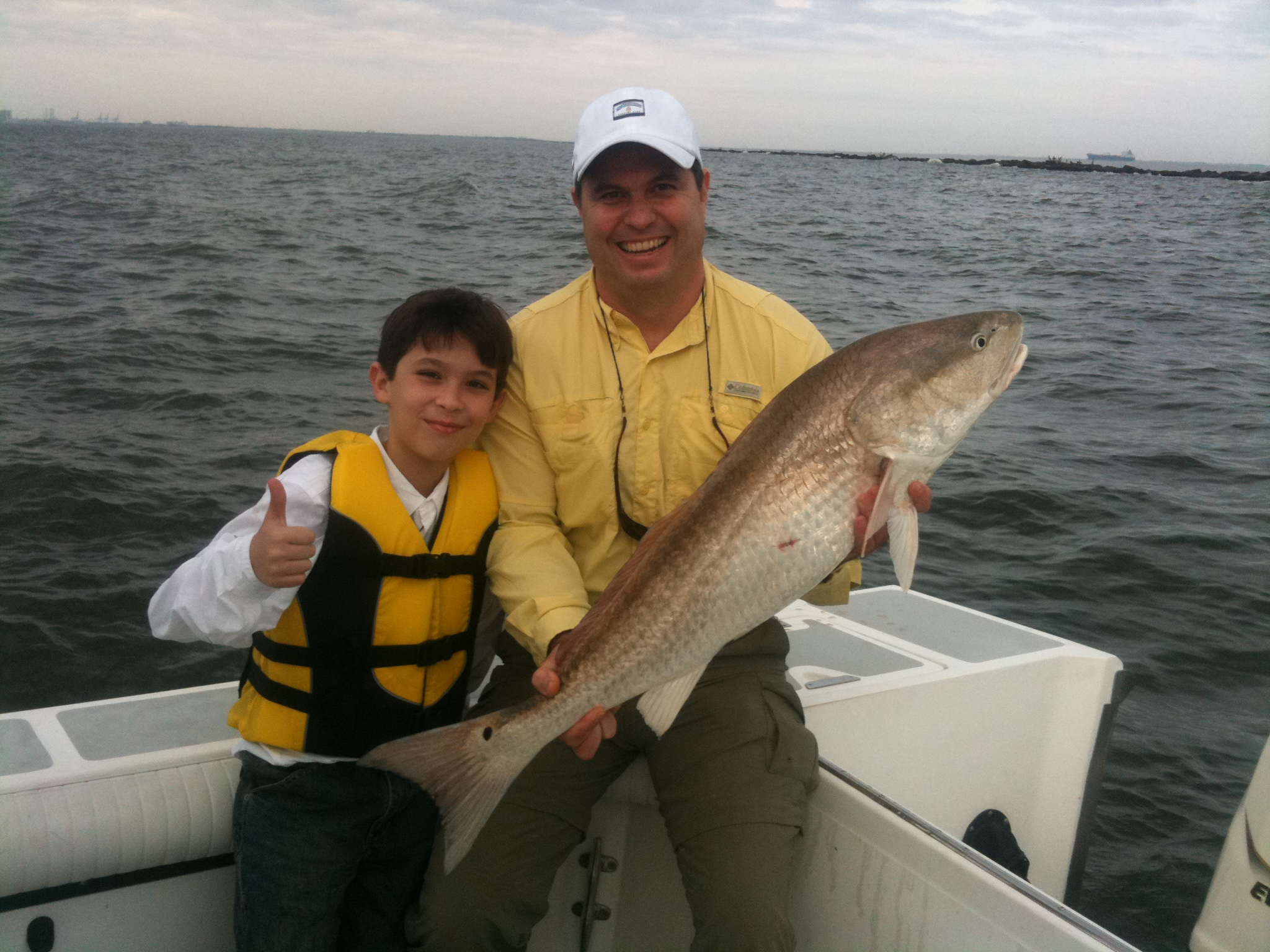 The god of surprises image i nations for Father son fishing