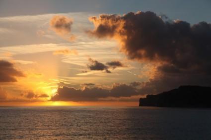 sunset_evening_sky_sea_217286